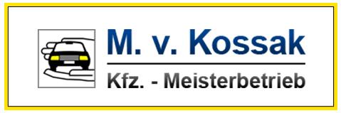 M. v. Kossak - KFZ -Meisterbetrieb - Logo